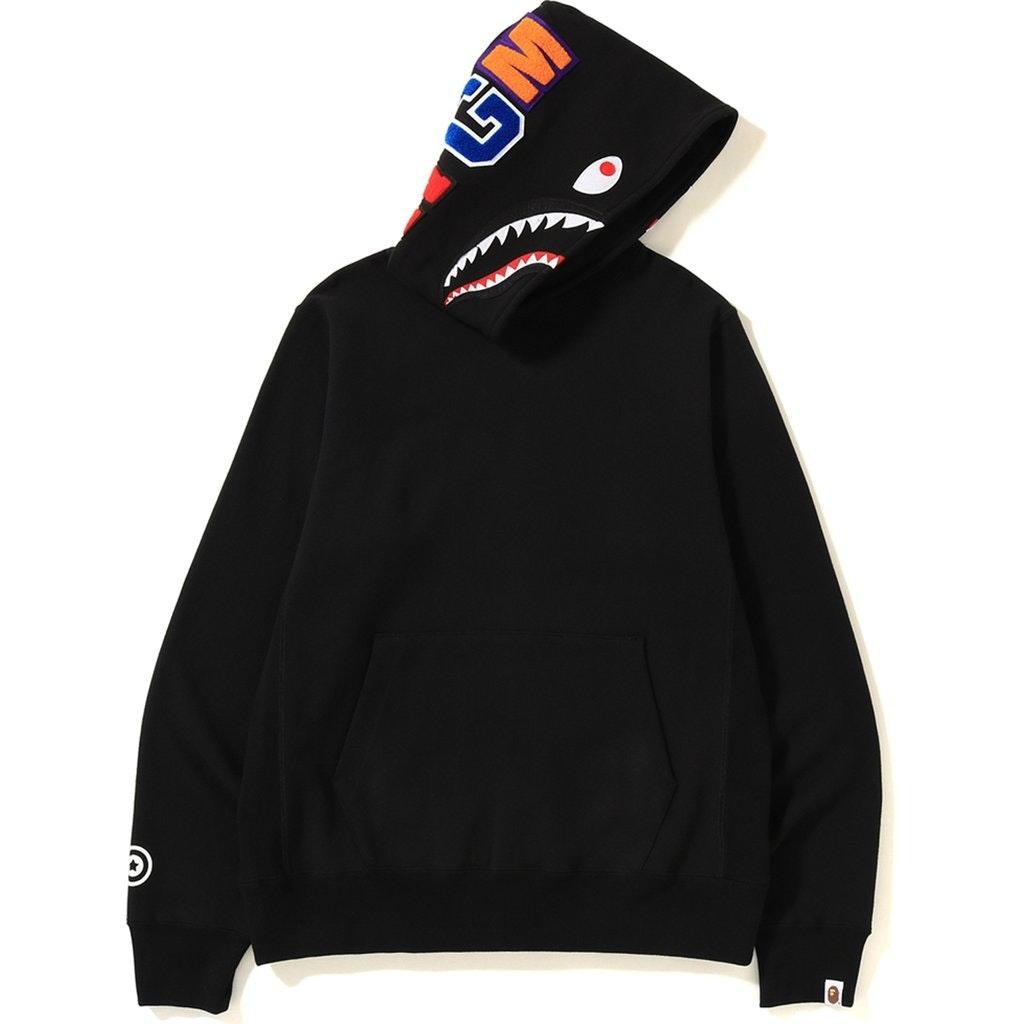 Bape Shark Pullover Hoodie Black