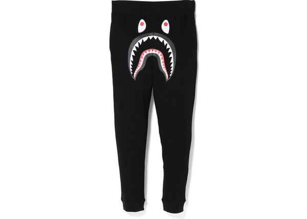 best loved 5b6e6 9d699 BAPE Shark Slim Sweat Pants BlackGreen