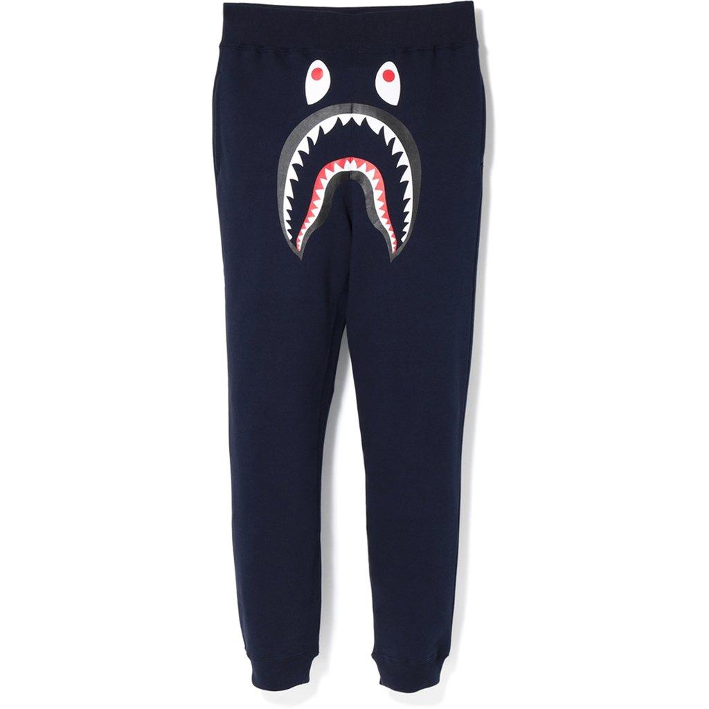 NavyGreen Pants Shark BAPE Slim Sweat Axq8IgU