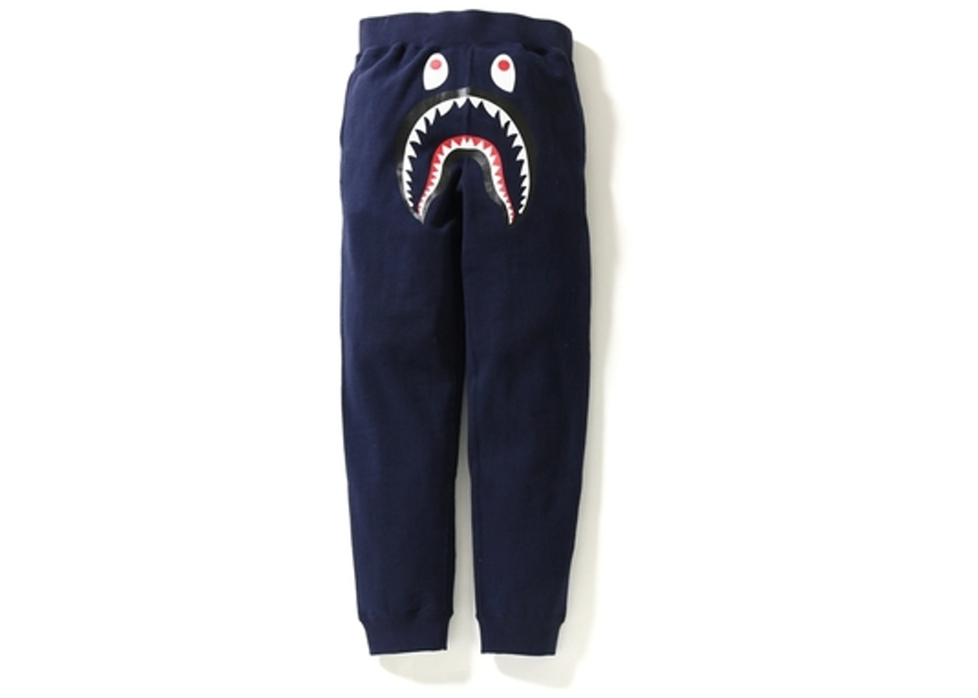 4b878d65 BAPE Shark Slim Sweat Pants Navy -