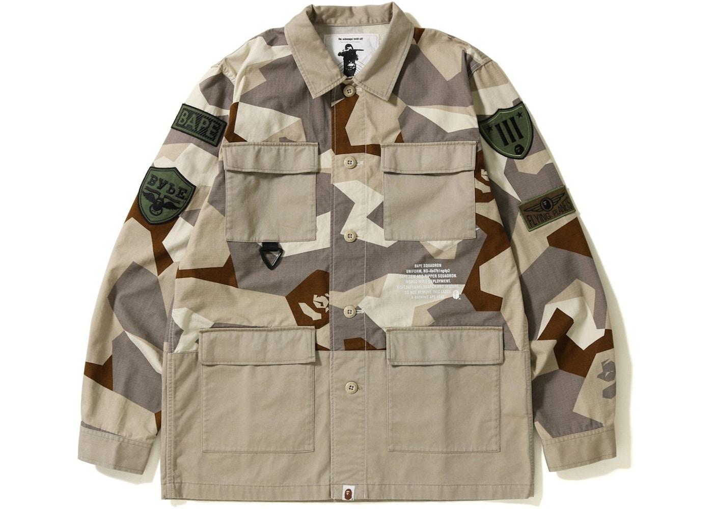 265cbd60 Bape Shirts Stockx