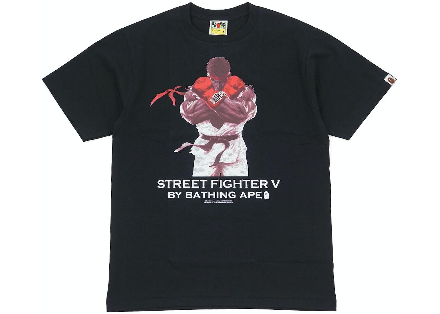 9664a522c BAPE Capcom Street Fighter Ryu Tee Black -