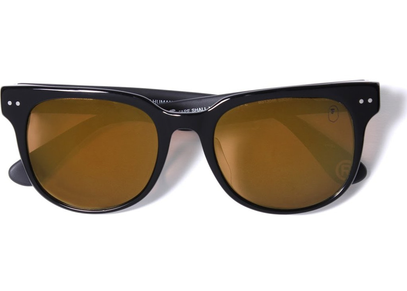 f63839571b BAPE Sunglasses 4 M Bs13046 Black Green -