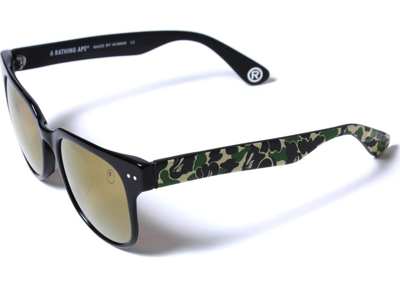 1fcadce8a8 BAPE Sunglasses 4 M Bs13046 Black Green. Sunglasses 4 M