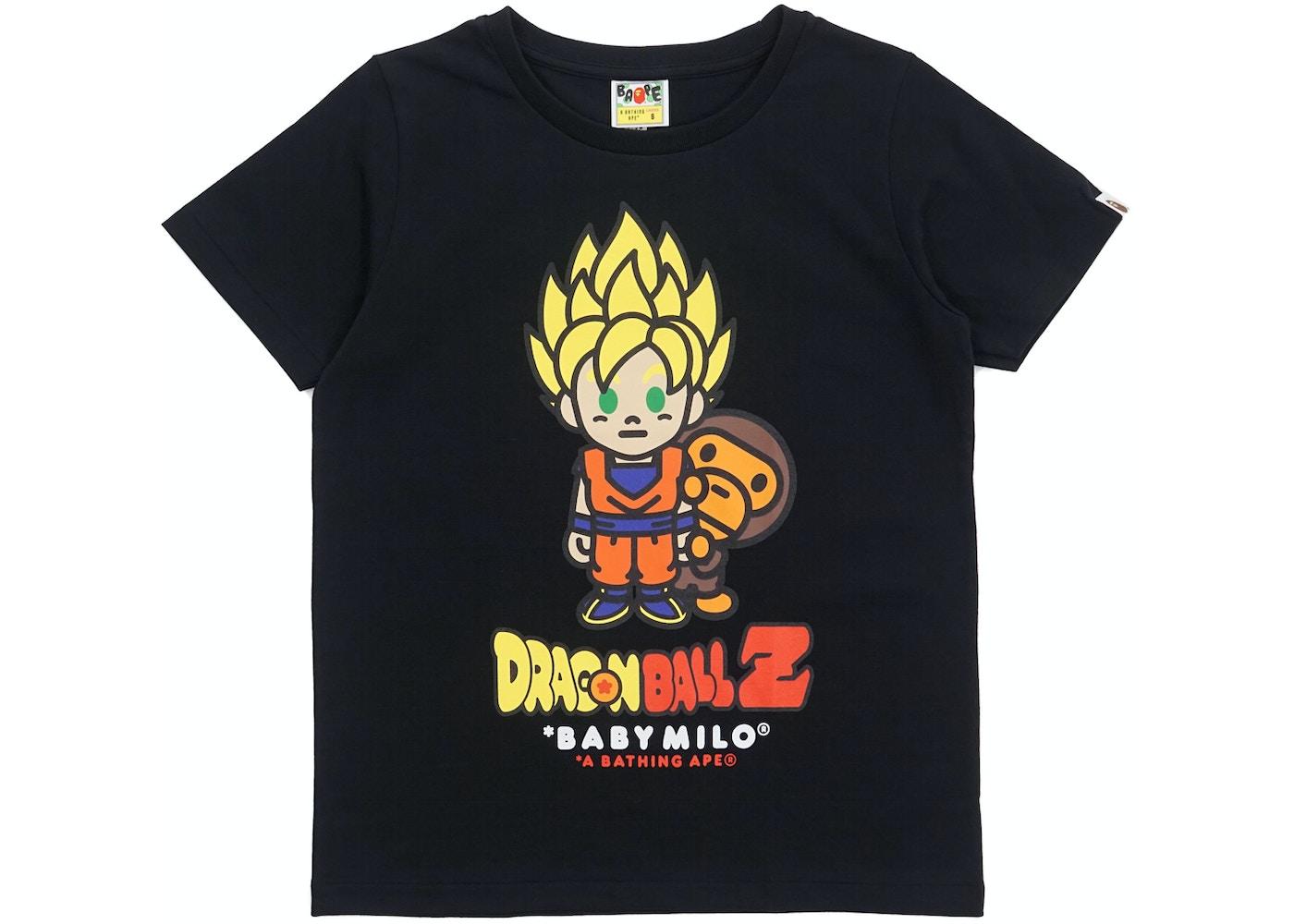 BAPE Dragon Ball Z Super Saiyan Goku Baby Milo Tee (Ladies