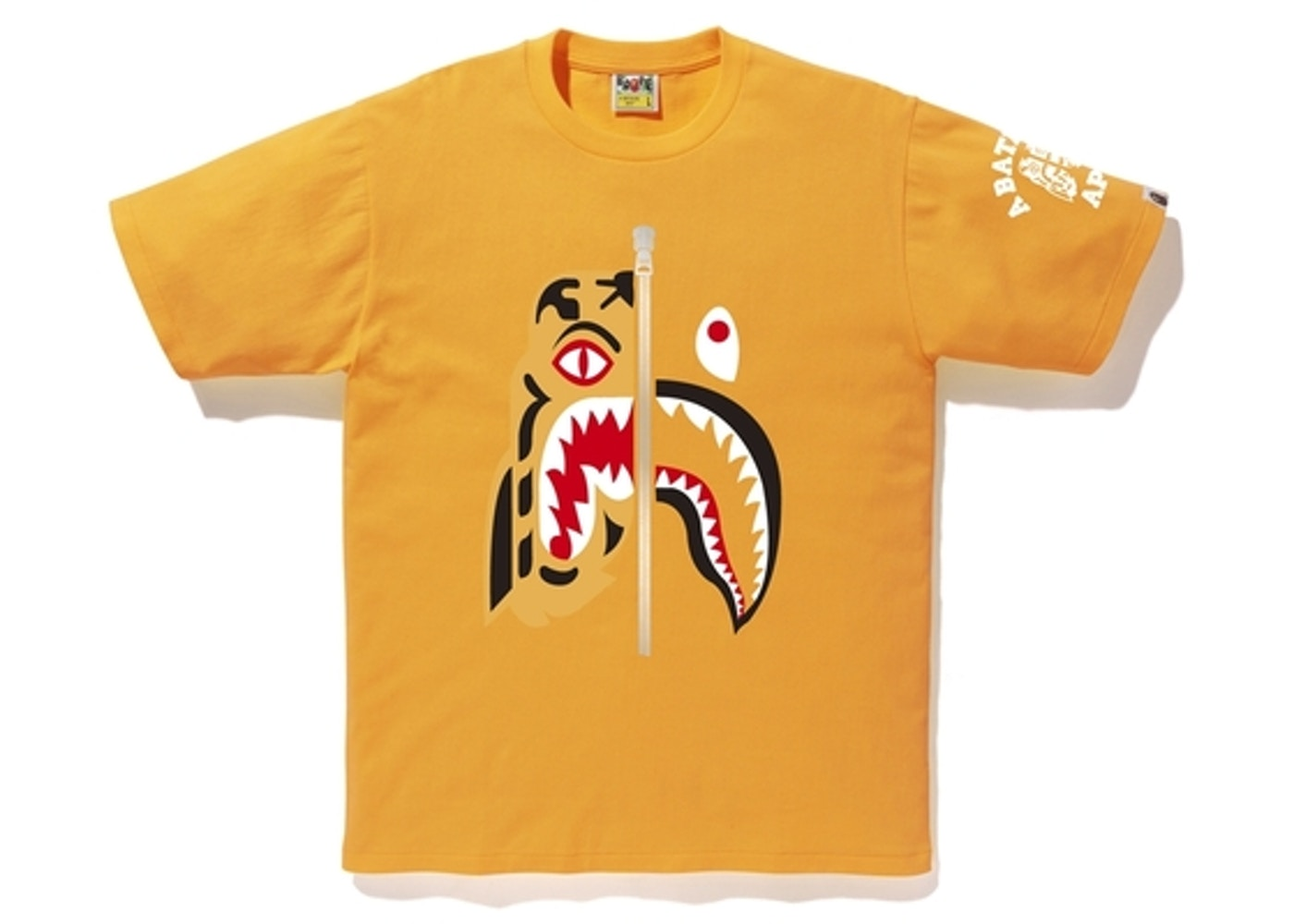 a26783a5 Sell. or Ask. Size --. View All Bids. BAPE Tiger Shark Tee Orange