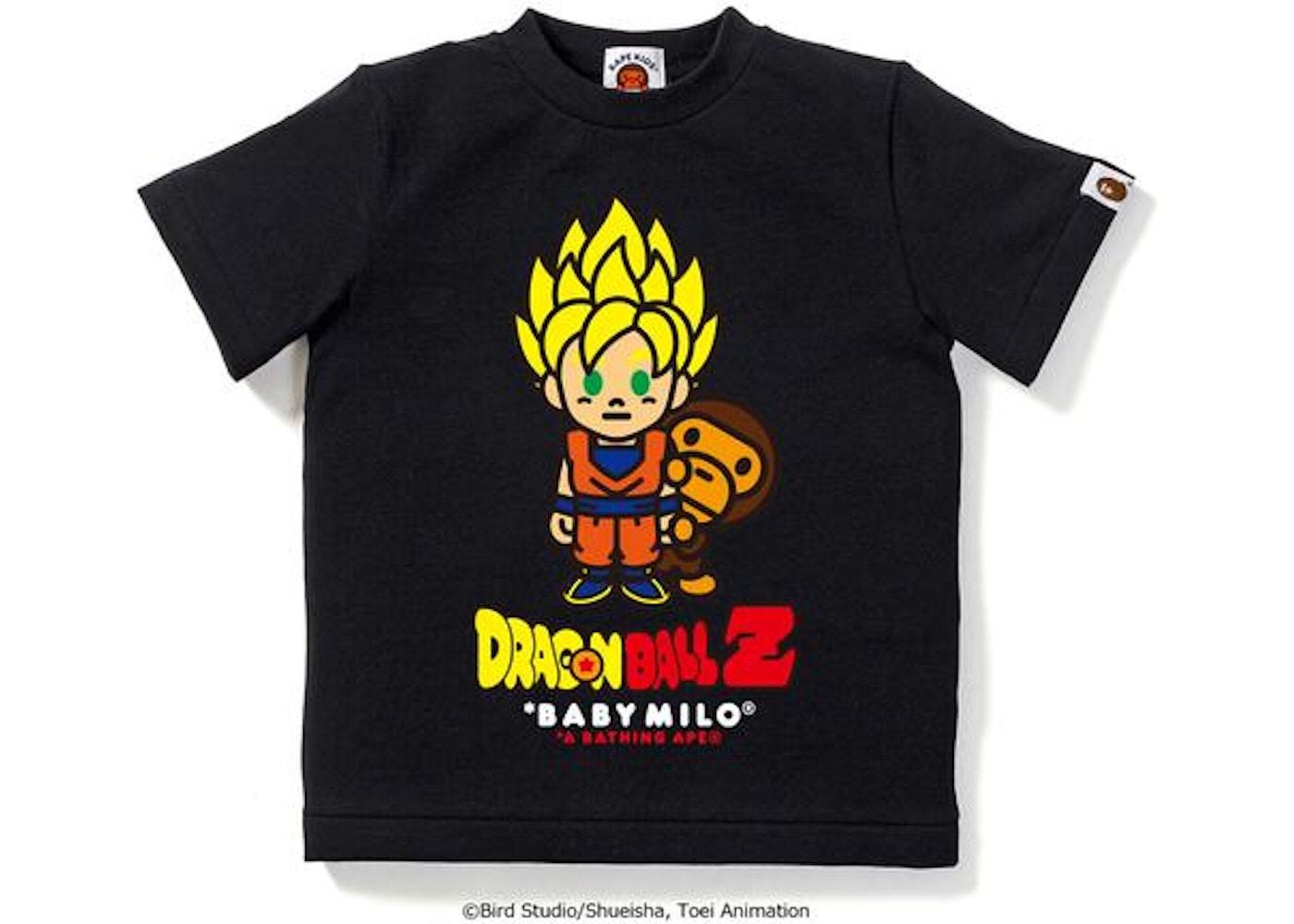 b379045f BAPE X Dragon Ball Z Tee #1 1 (Kids) Black -