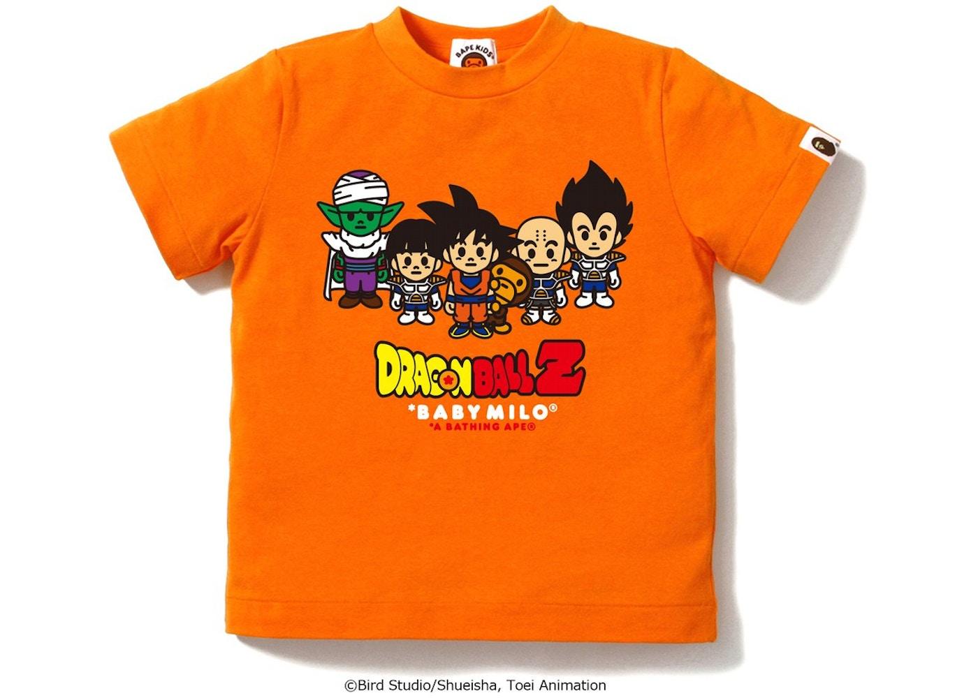 e141918e BAPE X Dragon Ball Z Tee #6 6 (Kids) Orange -