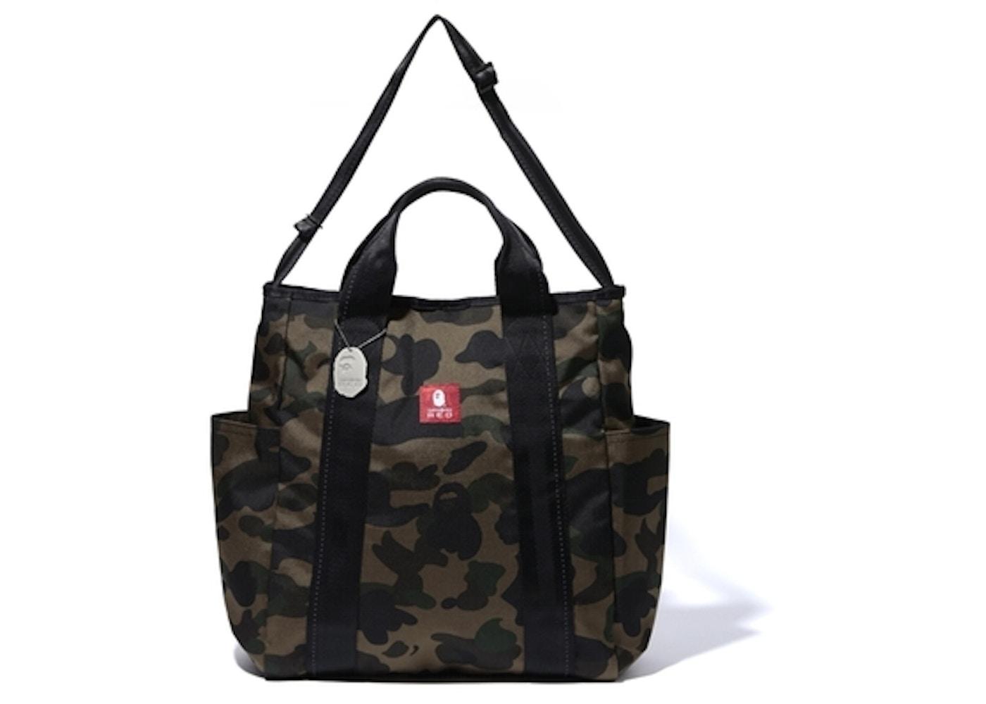 lowest price 37b2e 53c48 BAPE X Samsonite Red1st Camo Combi 2Way Bag Green -
