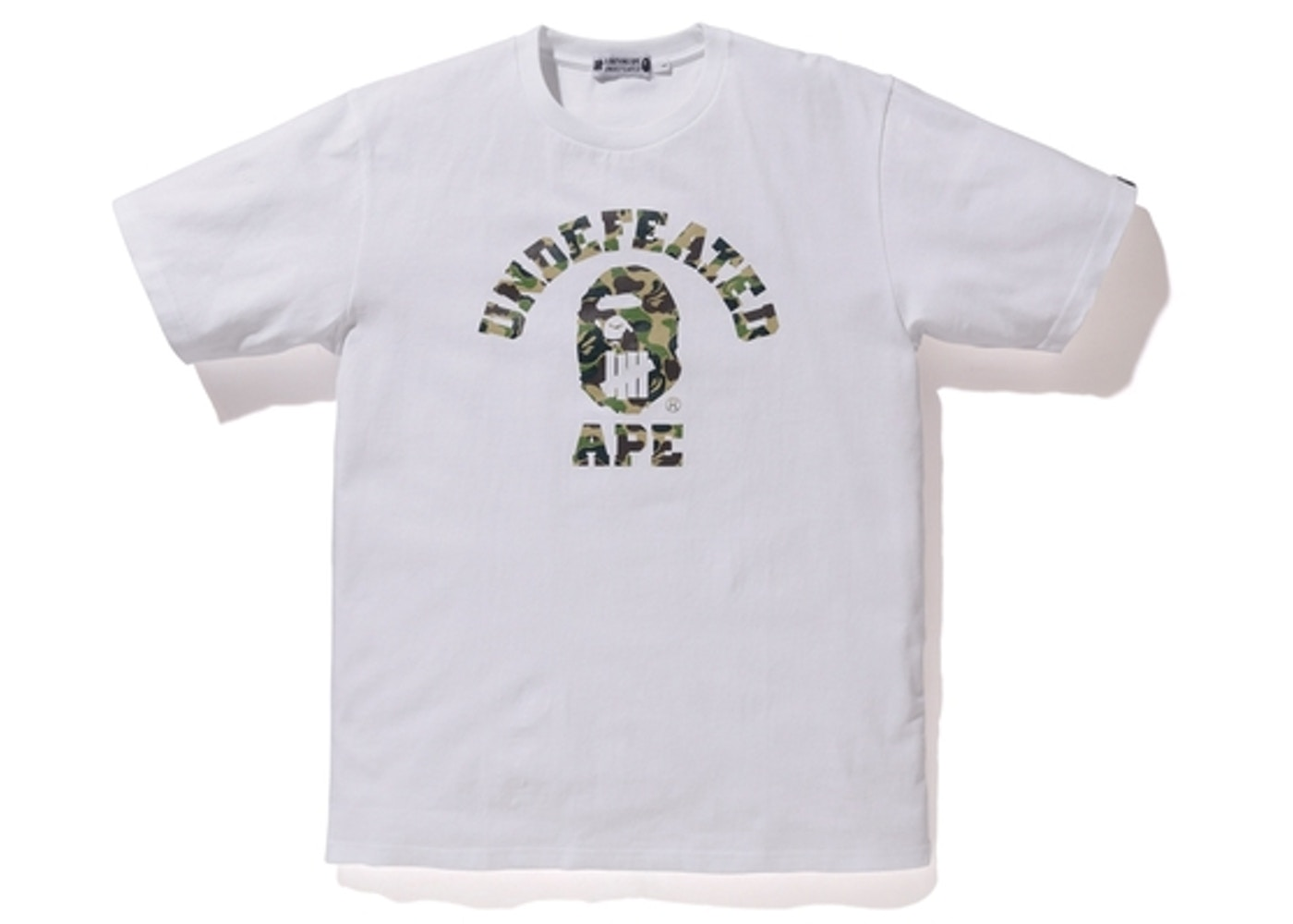 e0a40f39 Sell. or Ask. Size: XXL. View All Bids. BAPE X Undefeated ABC College ABC  Tee ...