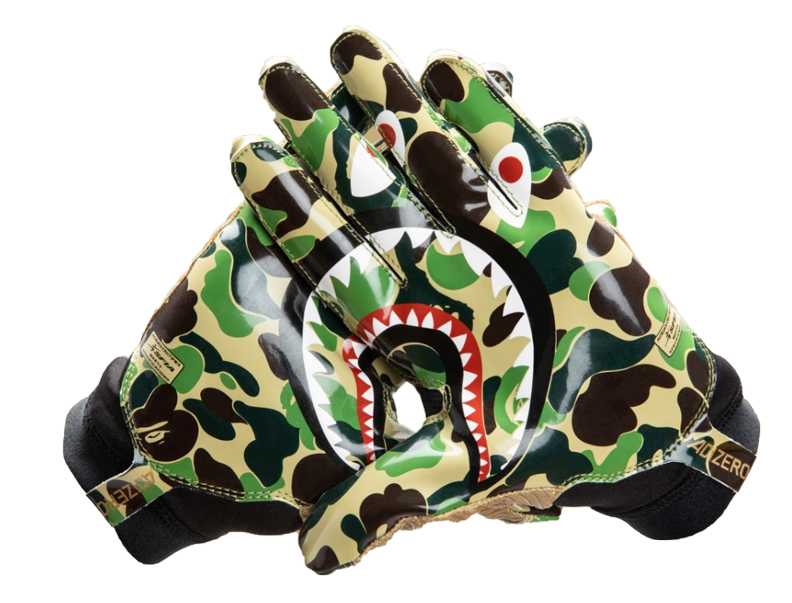 BAPE x Adidas Adizero 8.0 Gloves Green