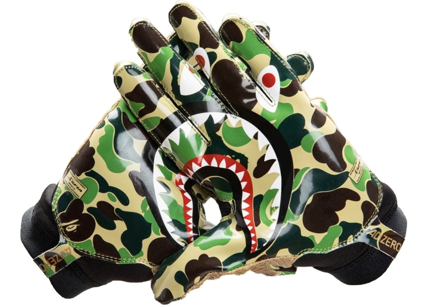 cheaper 834c7 5b5eb BAPE x Adidas Adizero 8.0 Gloves Green