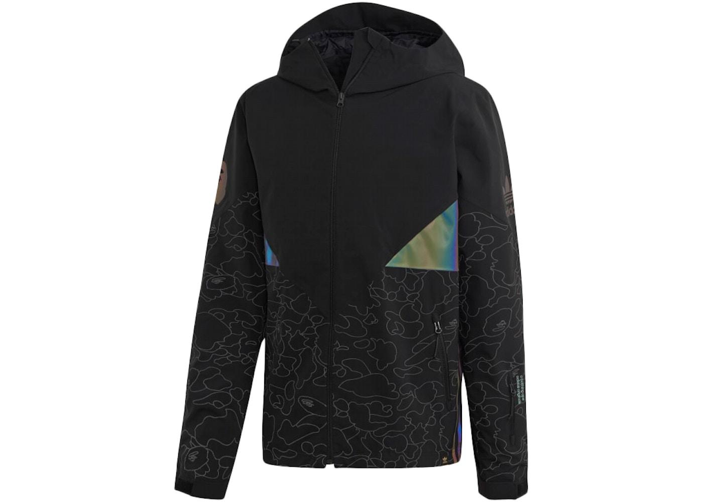 a01537b9 BAPE x Adidas Snow Jacket Black - FW18
