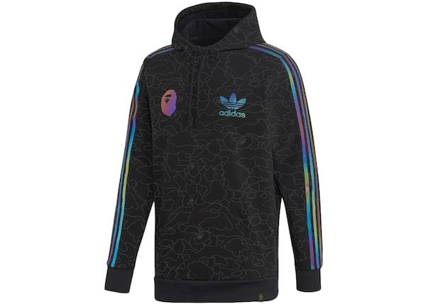 BAPE x Adidas Tech Hoodie Black - FW18 c6554c411849