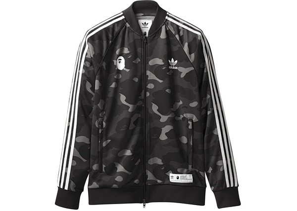 2b986da7822e BAPE Anorak Pullover Windbreaker Jacket Black. lowest ask.  298. BAPE x  adidas adicolor Track Top Cinder