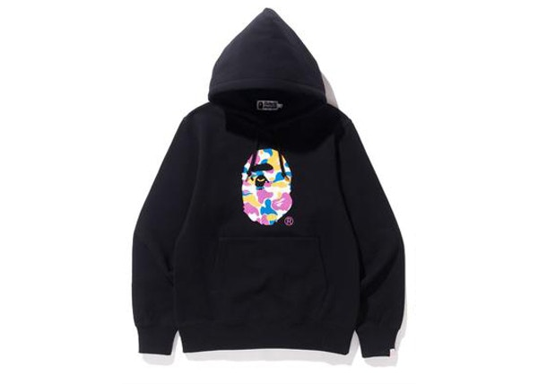 f2e2c8cba96 BAPE x Anti Social Social Club LA Exclusive City Camo Pullover Hoodie Black  Multi