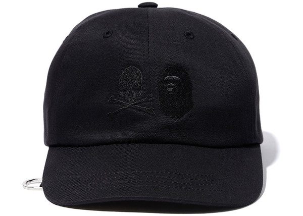 ed106cf8408 BAPE x Mastermind Japan Skull   Shark Cap Black