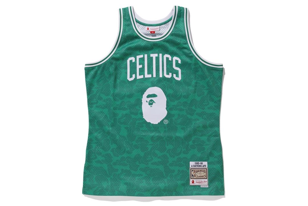 BAPE x Mitchell \u0026 Ness Celtics ABC