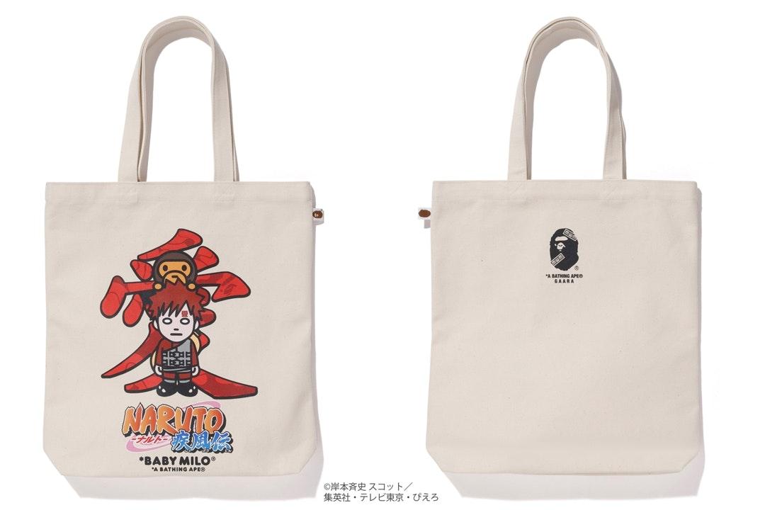 BAPE x Naruto Tote Bag #3 White