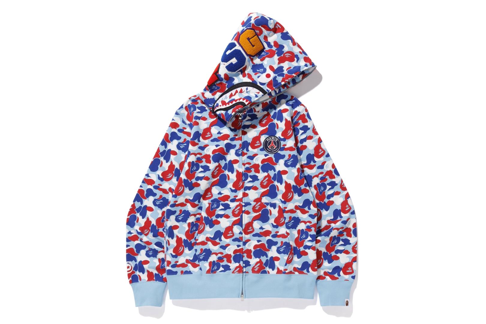 9be074fd0ce2 Bape shark full zip hoodie blue jpg 1400x1000 Baby blue bape shark
