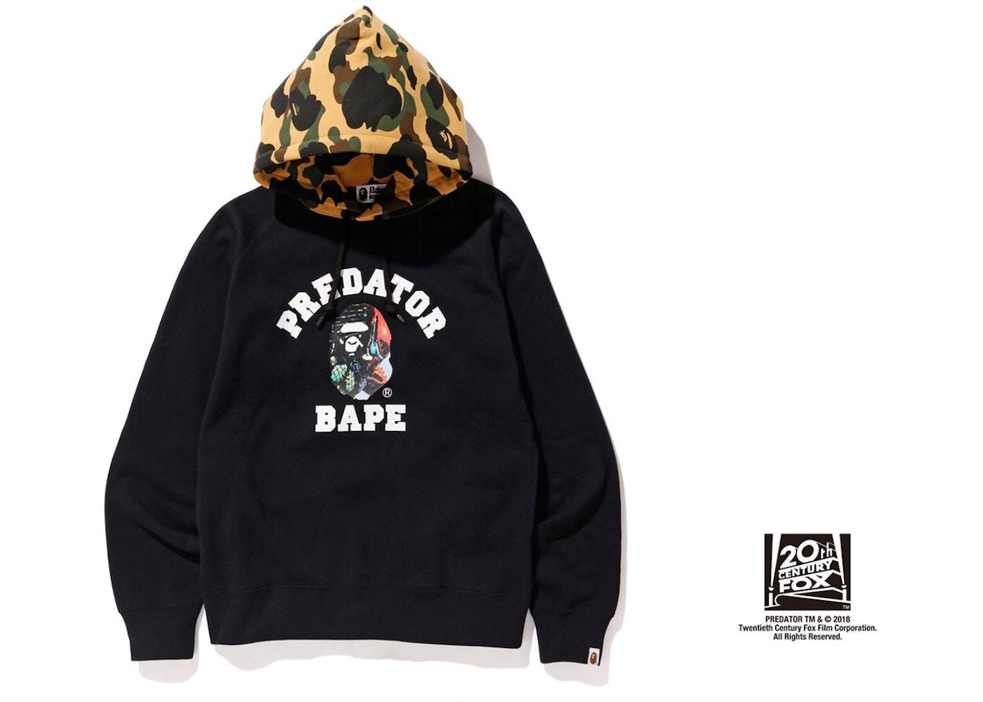 e6888491c0c8 Sell. or Ask. Size M. View All Bids. BAPE x Predator Pullover Hoodie Black
