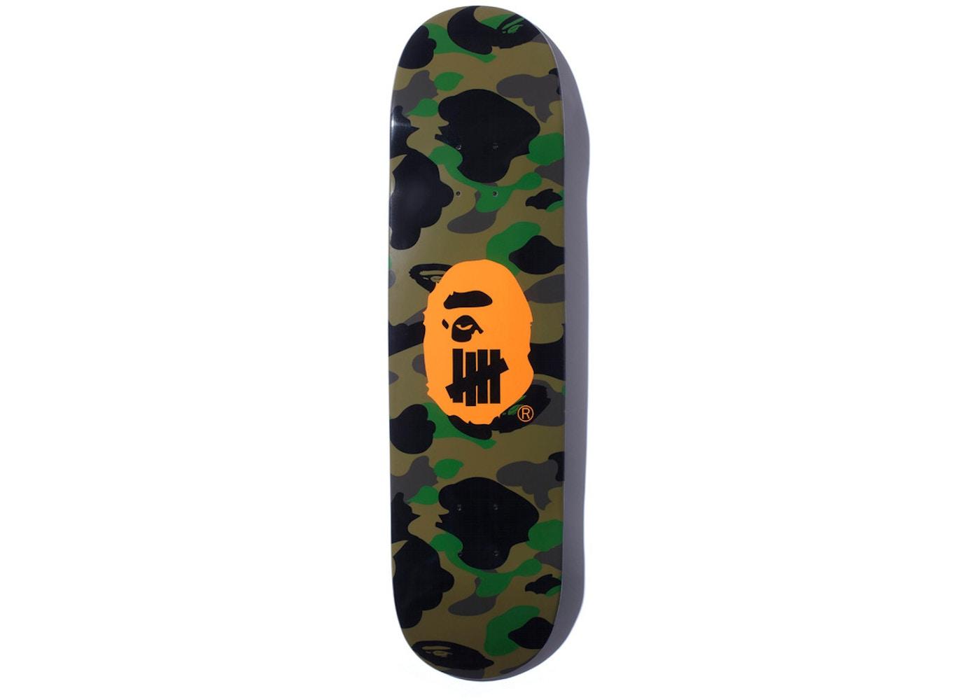 64dc6194 BAPE x Undefeated Skate Skateboard Deck Green - SS18