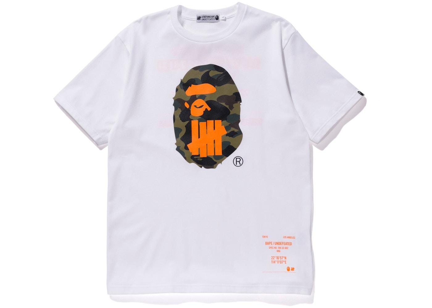 ccc1bc7f Streetwear - Bape T-Shirts - Highest Bid