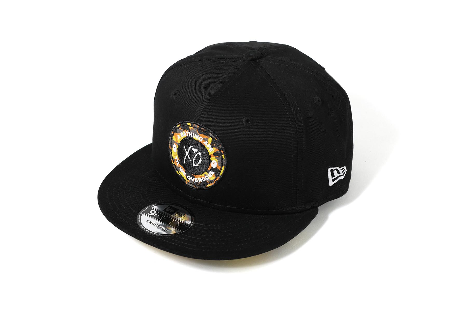 new arrival 60c1c b2bac ... get bape x xo new era snapback cap black c3b85 4f06e