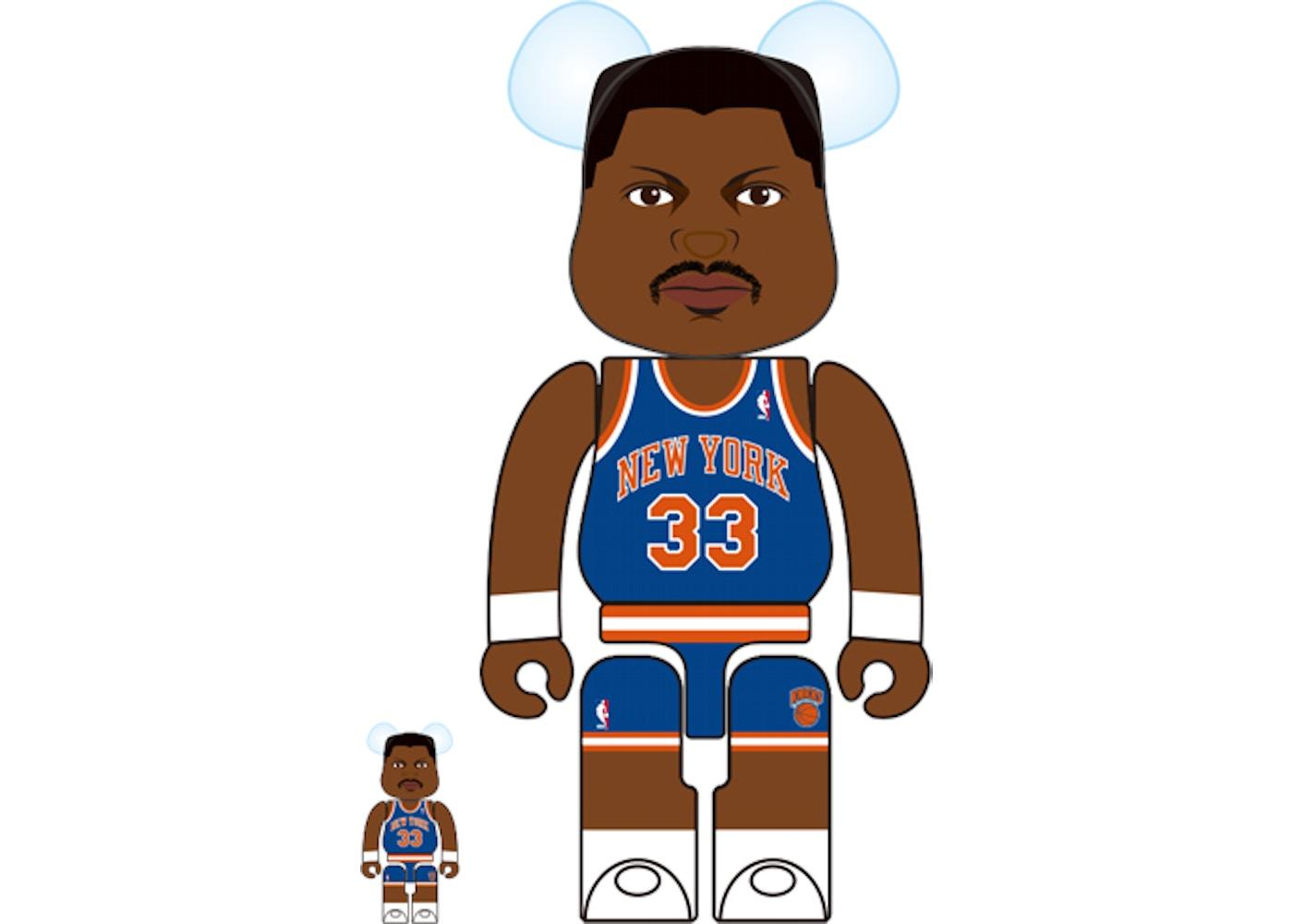 sneakers for cheap e7b5f 35853 Bearbrick Patrick Ewing (New York Knicks) 100% & 400% Multi ...
