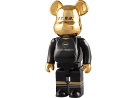 Bearbrick Sophnet x FCRB 400% Black