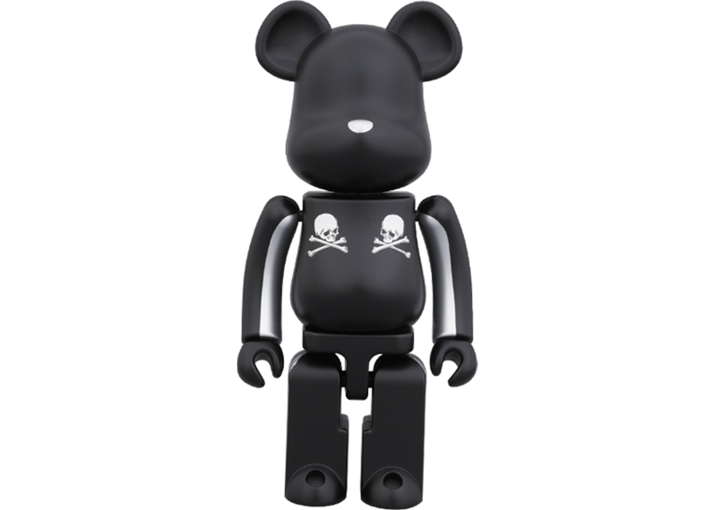 Bearbrick Superalloy Mastermind Japan 2 Pack (Silver Stripe & Chrome Gold)  200% Multi