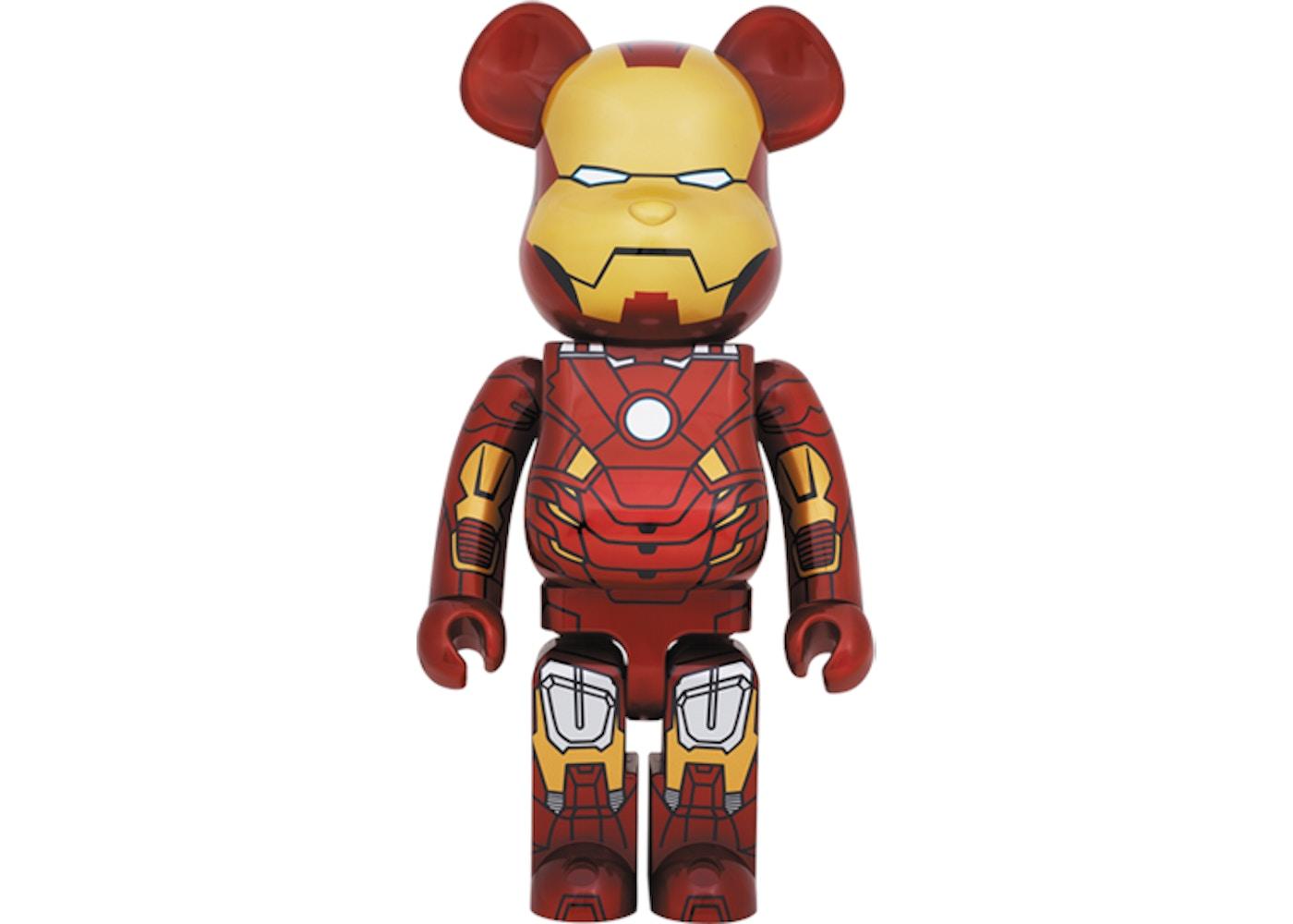 Bearbrick X Iron Man Mark Vii 1000 Multi 2013