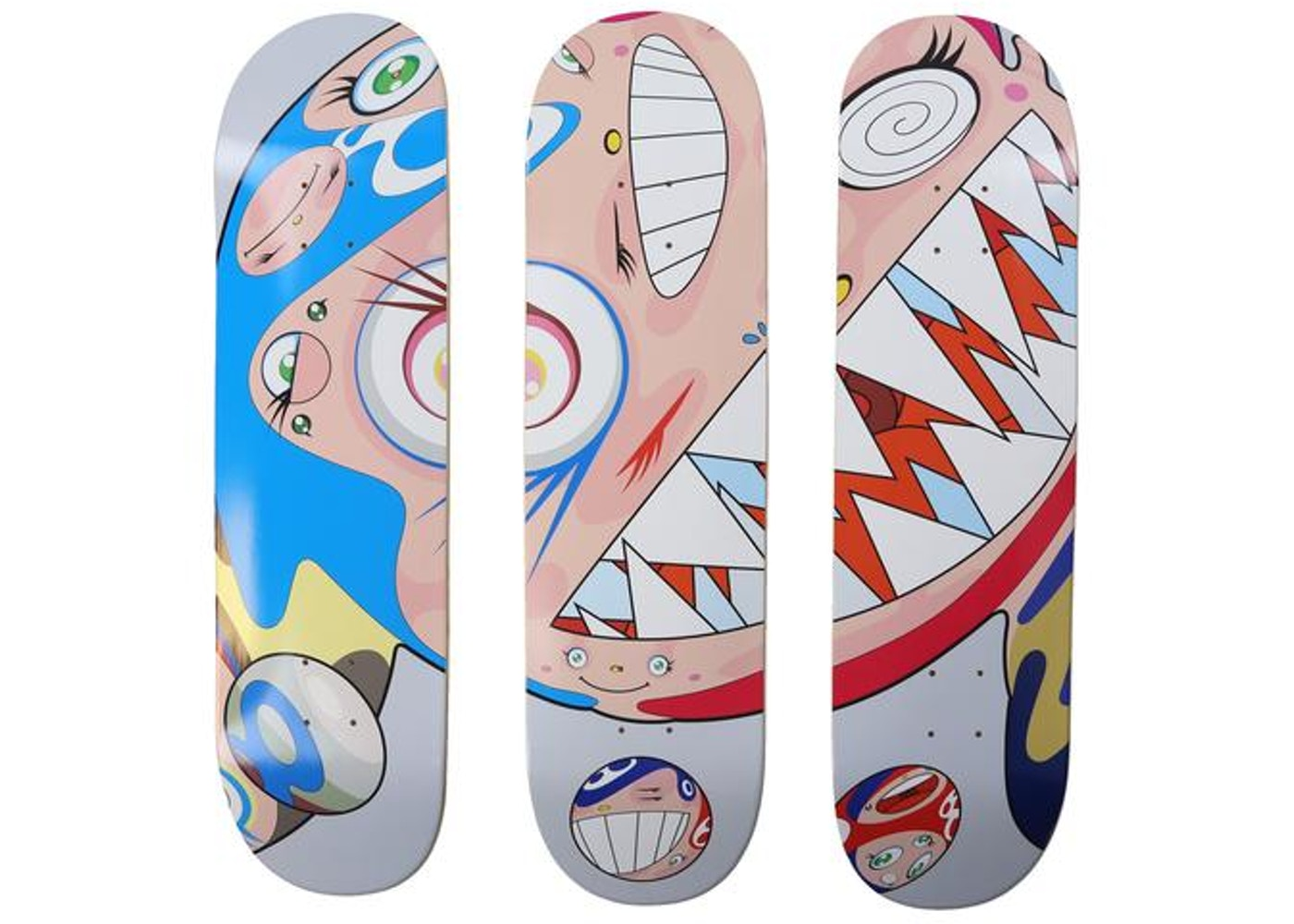 f7b18644 ComplexCon Flying Dob Skateboard Deck Set Multicolor - FW18