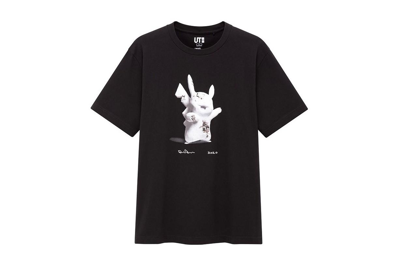 Daniel Arsham x Pokemon x Uniqlo Pikachu Tee (Japanese Mens Sizing) Black