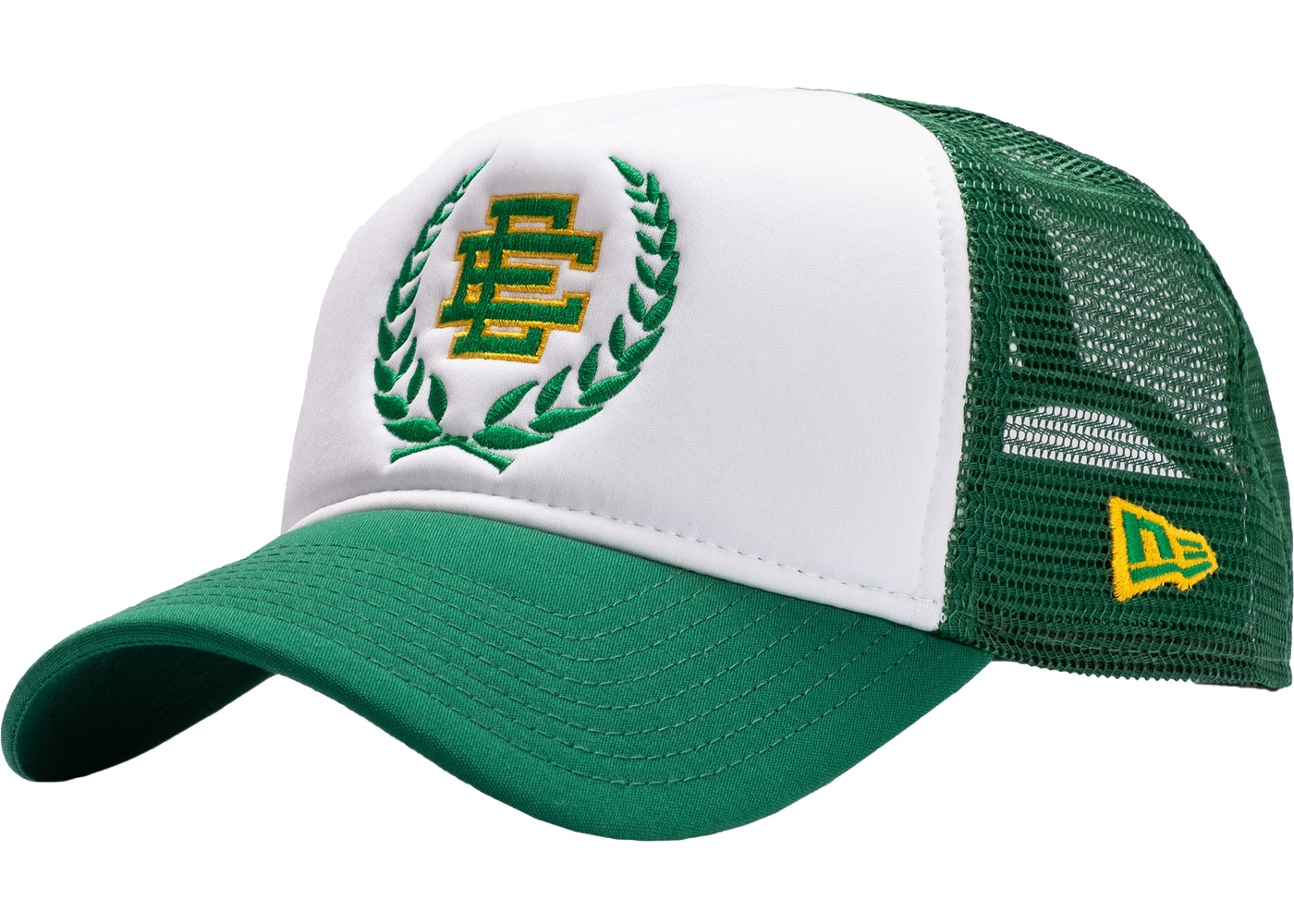 7f122226121 Eric Emanuel EE Trucker Hat Green - SS19