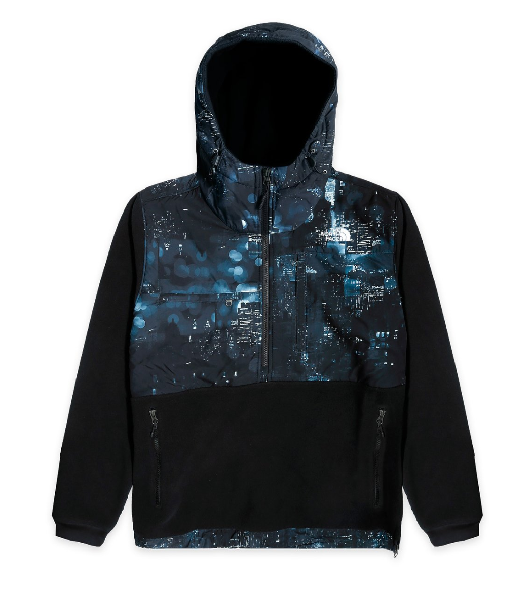 Pre-owned Extra Butter  The North Face Nightcrawlers Denali Fleece Anorak Multi