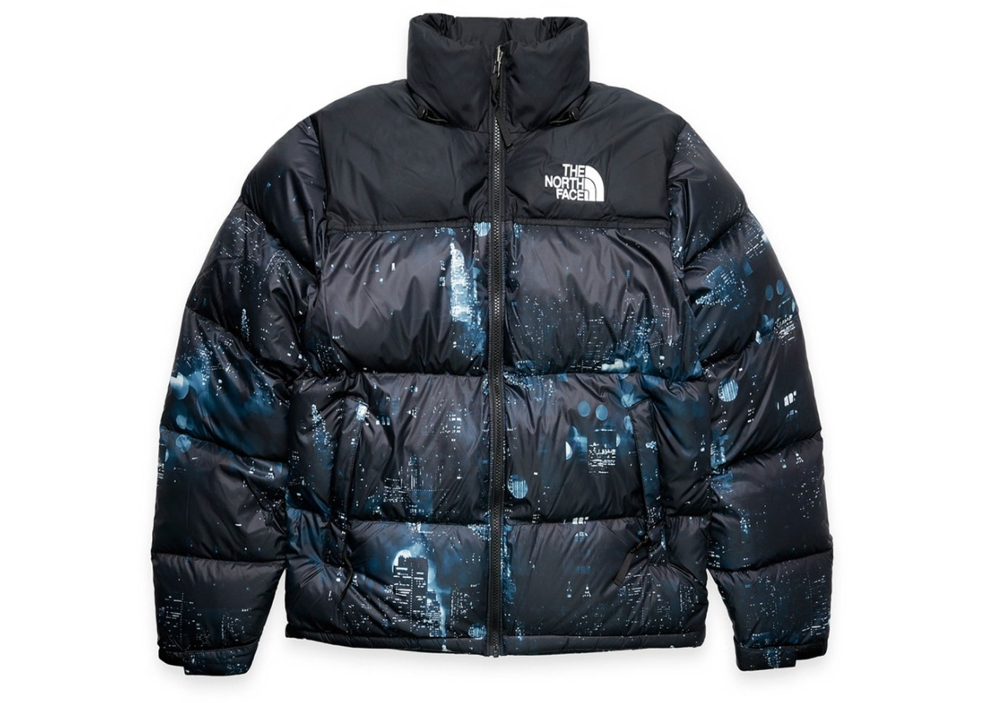 Splinternye Extra Butter The North Face Nightcrawlers Nuptse Jacket Multi - FW18 OO-81