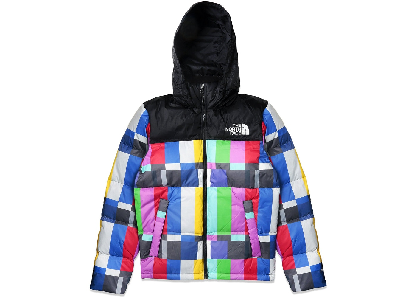 Extra Butter The North Face Technical Difficulties Nuptse Extra Butter Multi d5b6f4df6