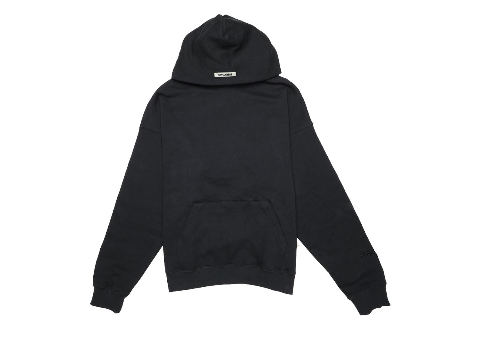 black hoodie