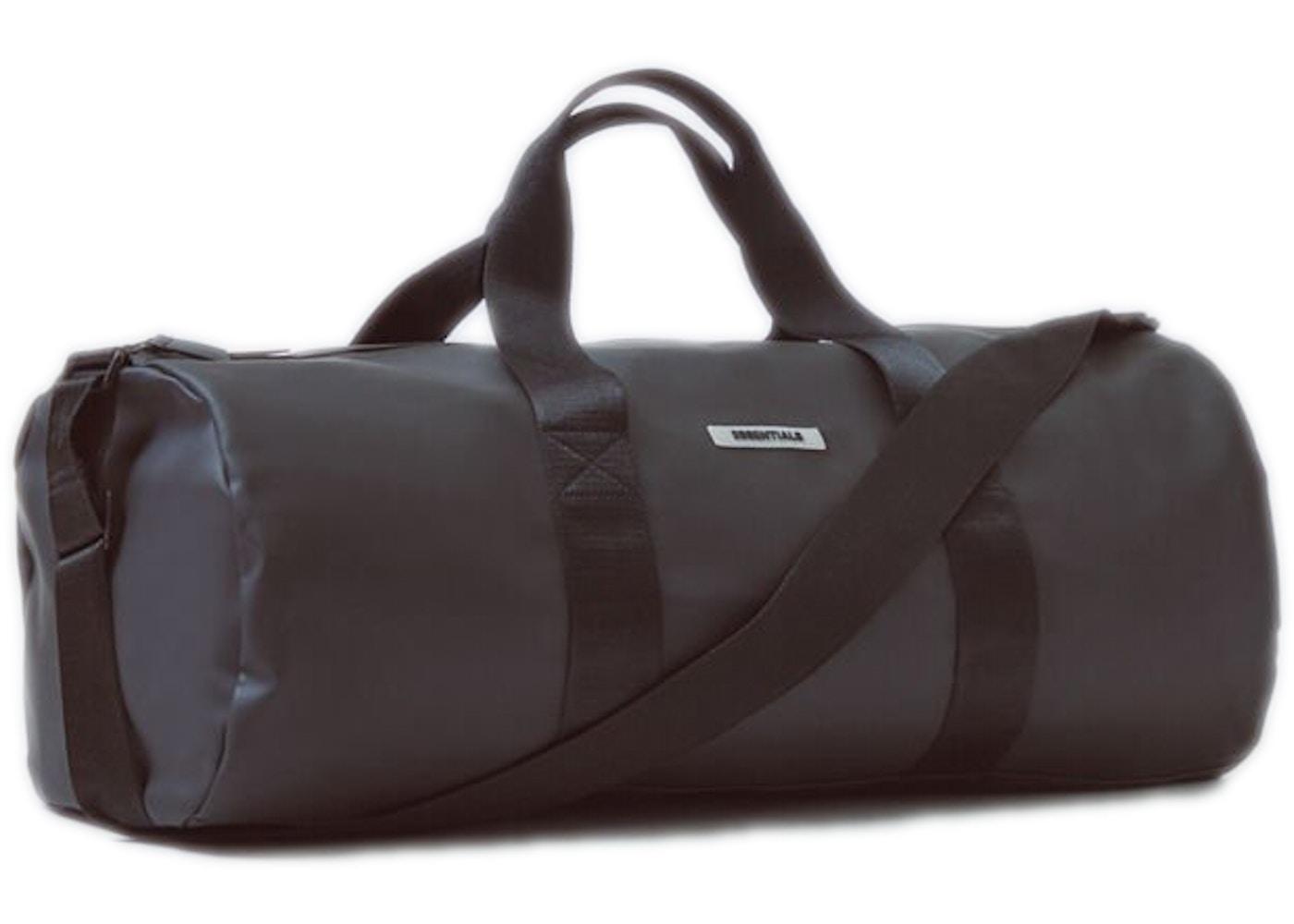 Essentials Waterproof Duffel Bag Black