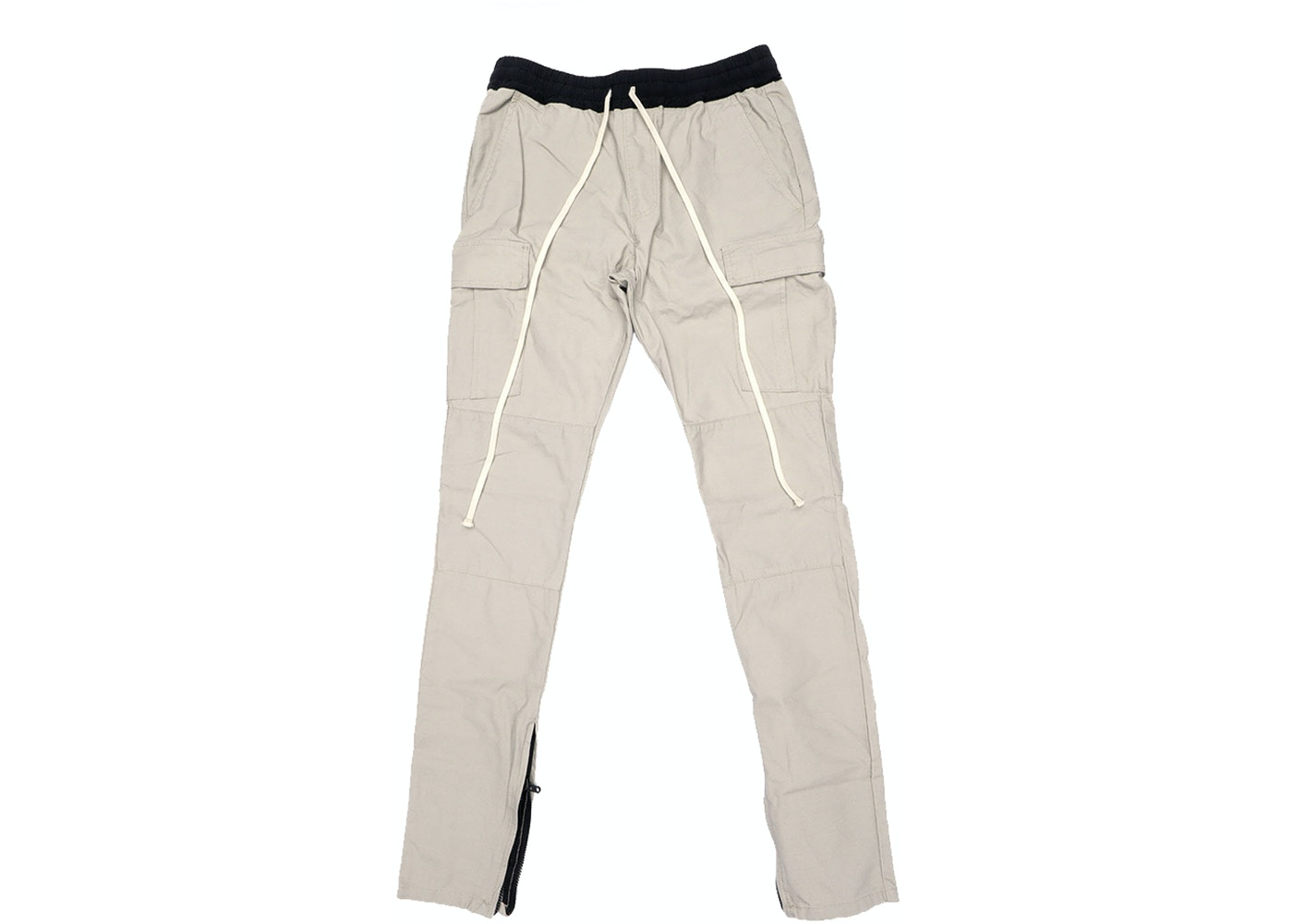 street price enjoy lowest price shop for genuine FEAR OF GOD Essentials Drawstring Cargo Pants Silver Grey