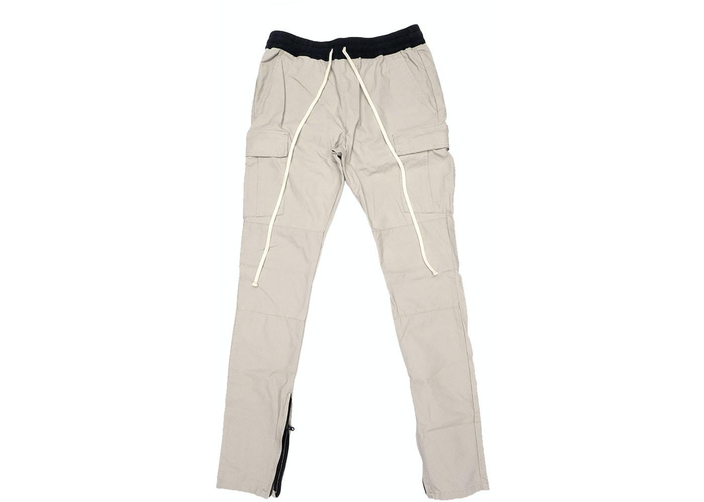 c2a4355a8b19d FEAR OF GOD Essentials Drawstring Cargo Pants Silver Grey - FOG ...