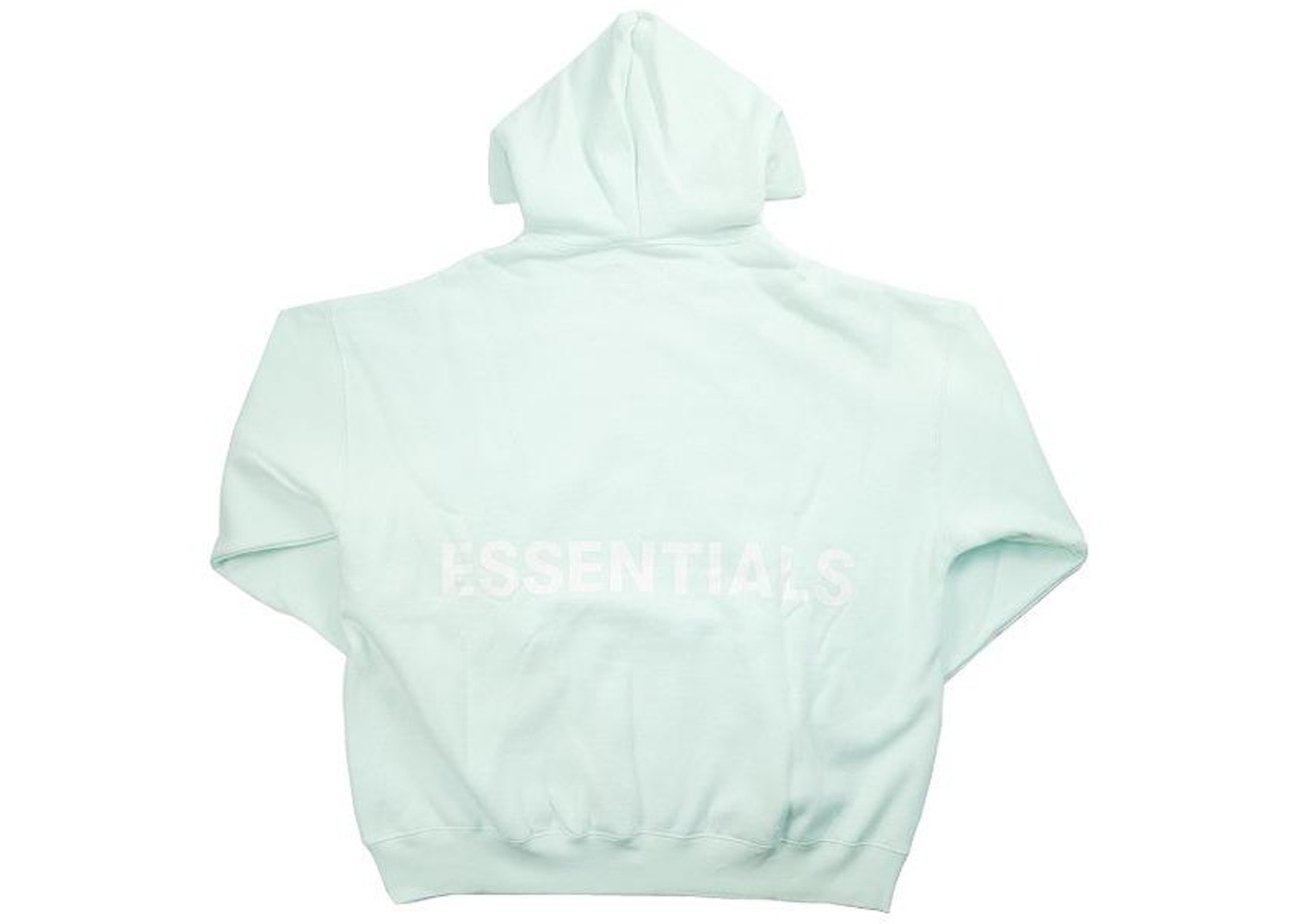 ba49c52d FEAR OF GOD Essentials Graphic Pullover Hoodie Mint - SS19