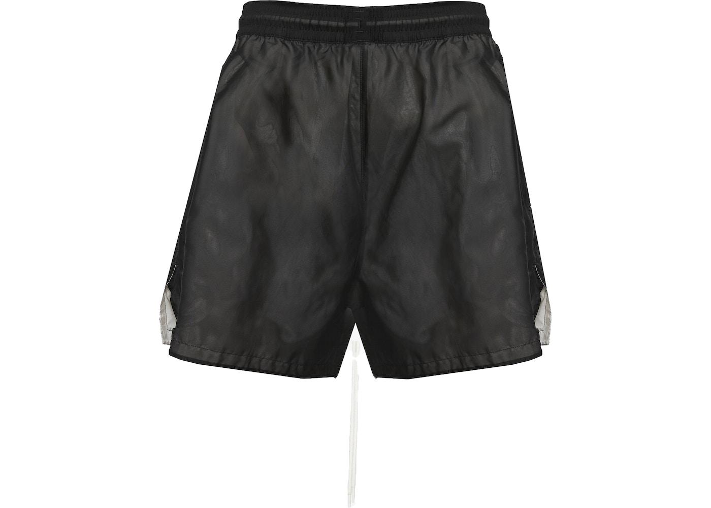 c07fb42a825 FEAR OF GOD x Nike Stretch Shorts Black Light Bone Sail Black - SS19