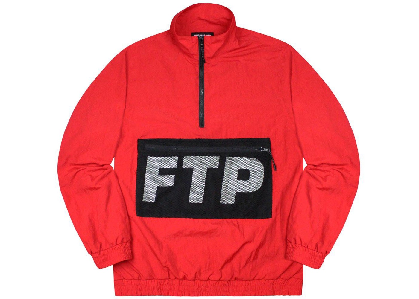 0fcbab5c Sell. or Ask. Size M. View All Bids. FTP Mesh Pocket Half Zip Red