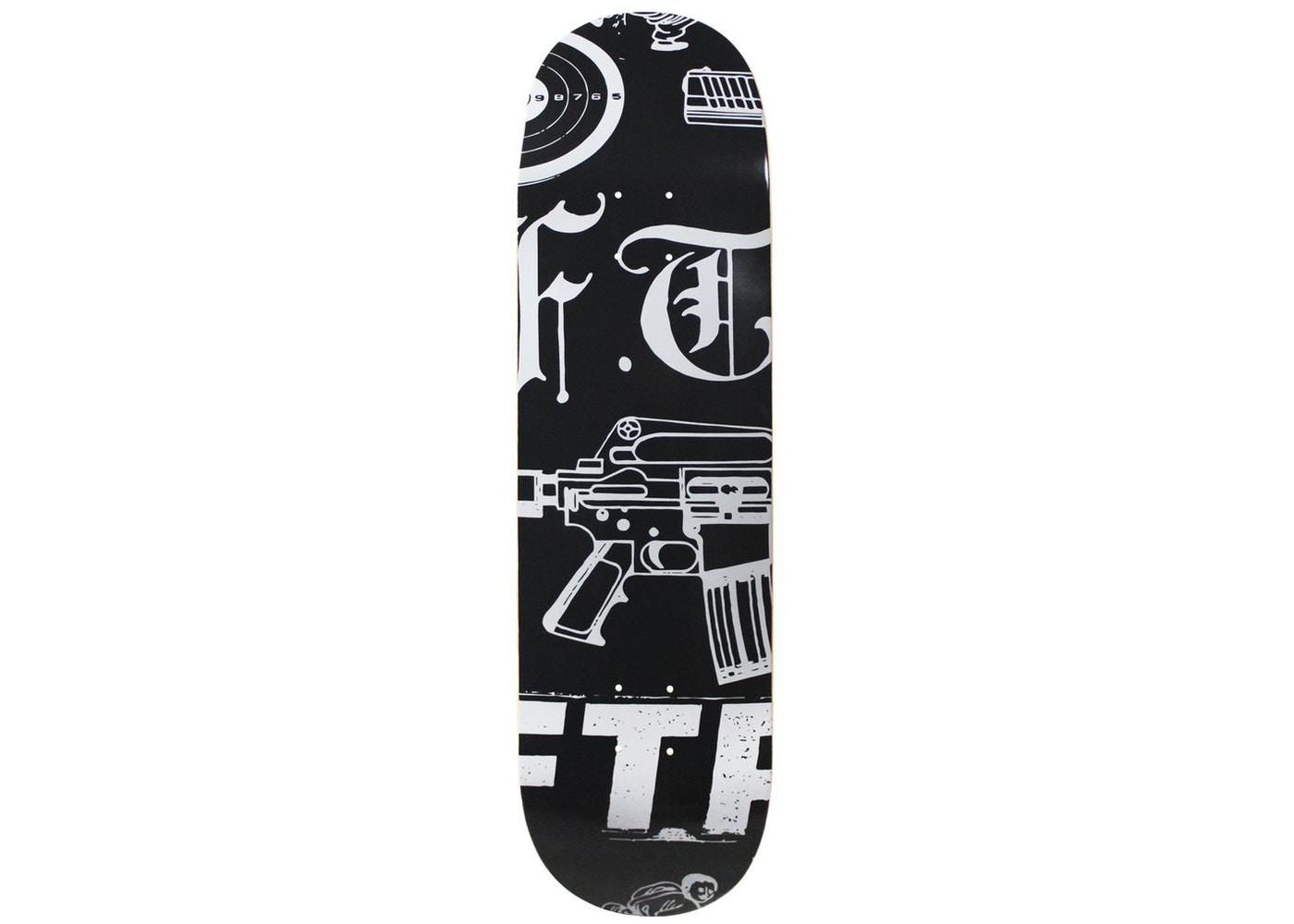 96ed24a9 FTP Psycho Skateboard Deck Multi - SS19