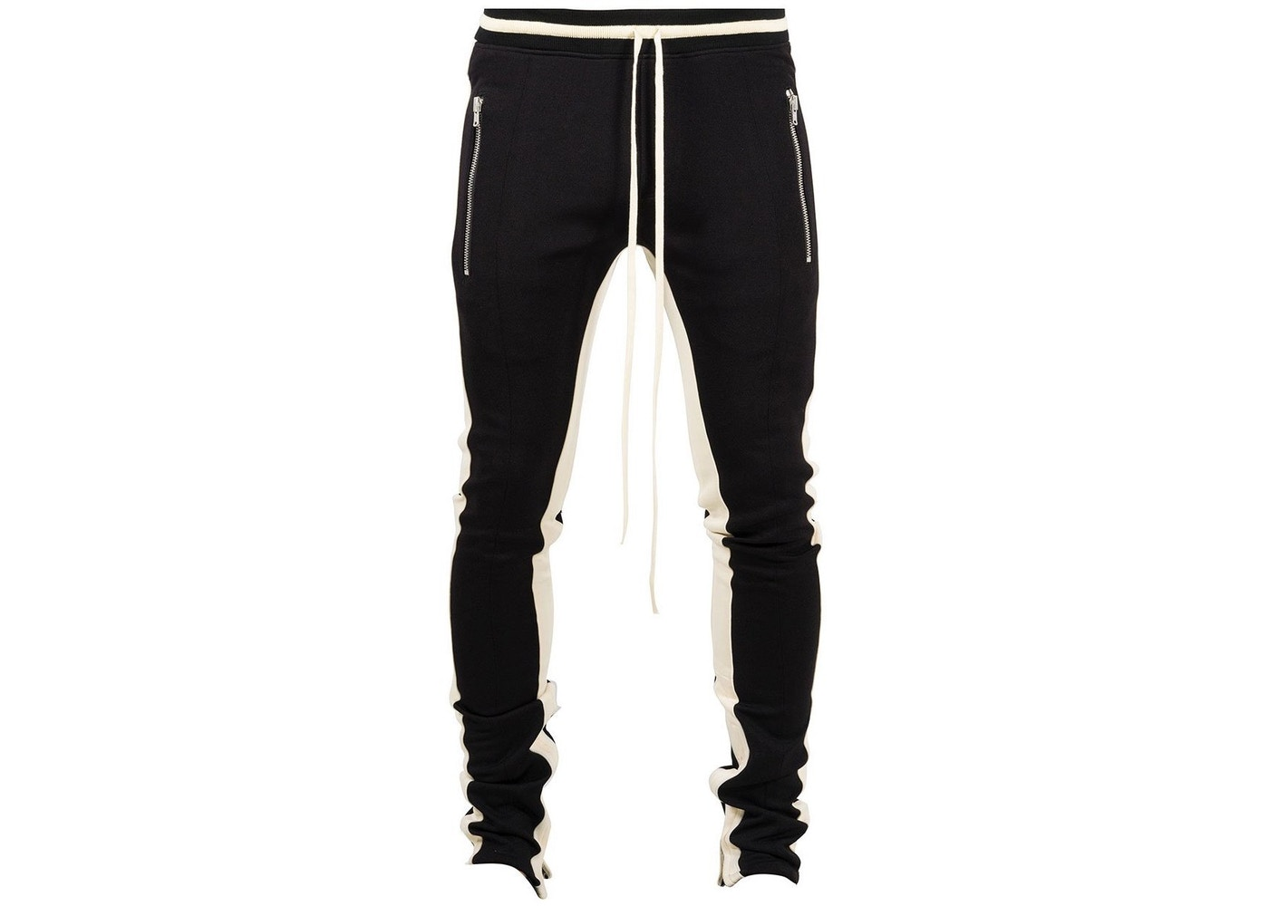 9e4cfd8f FEAR OF GOD Double Stripe Track Pants Black/White - Fifth Collection