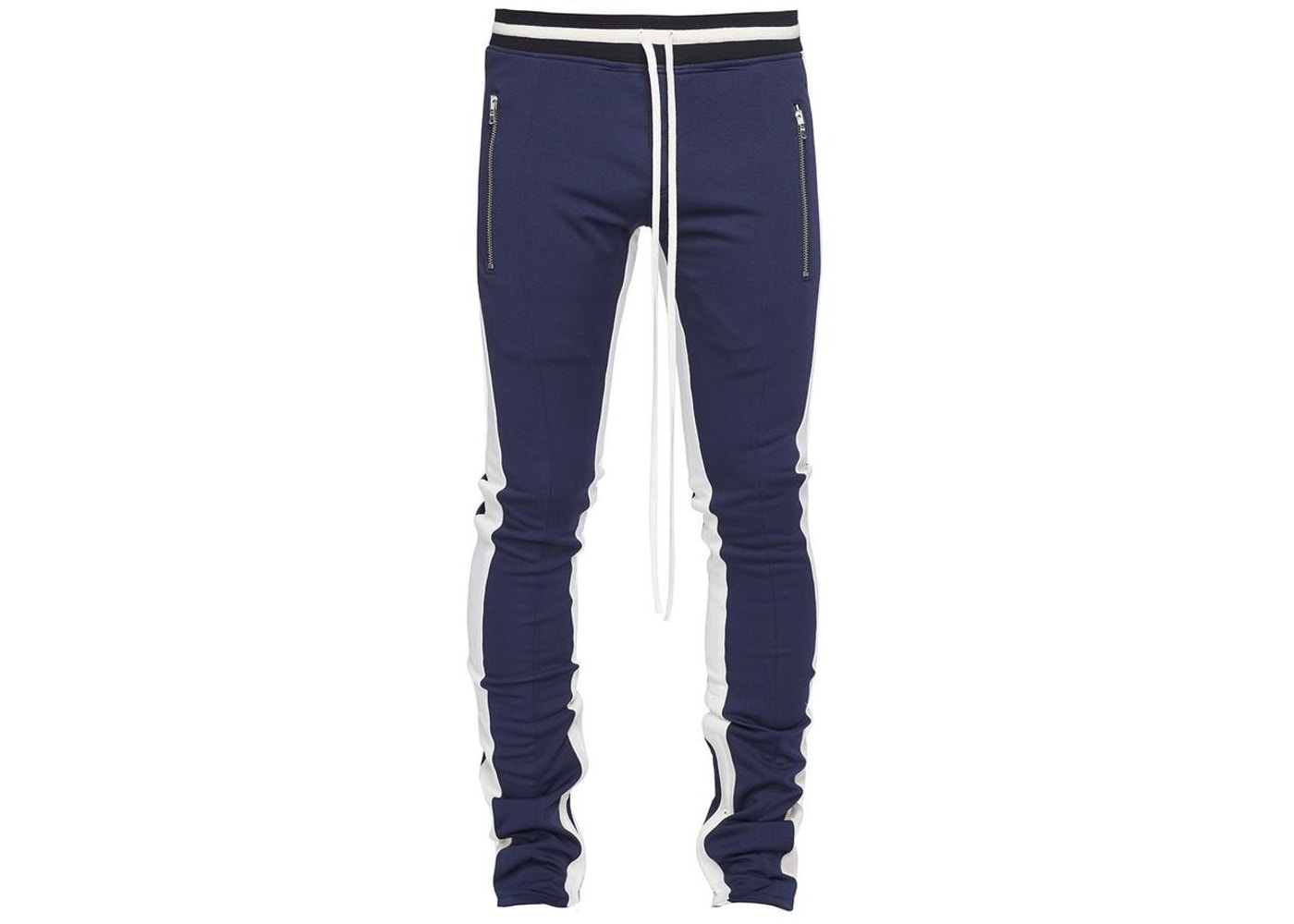 FEAR OF GOD Double Stripe Track Pants Navy - Fifth Collection