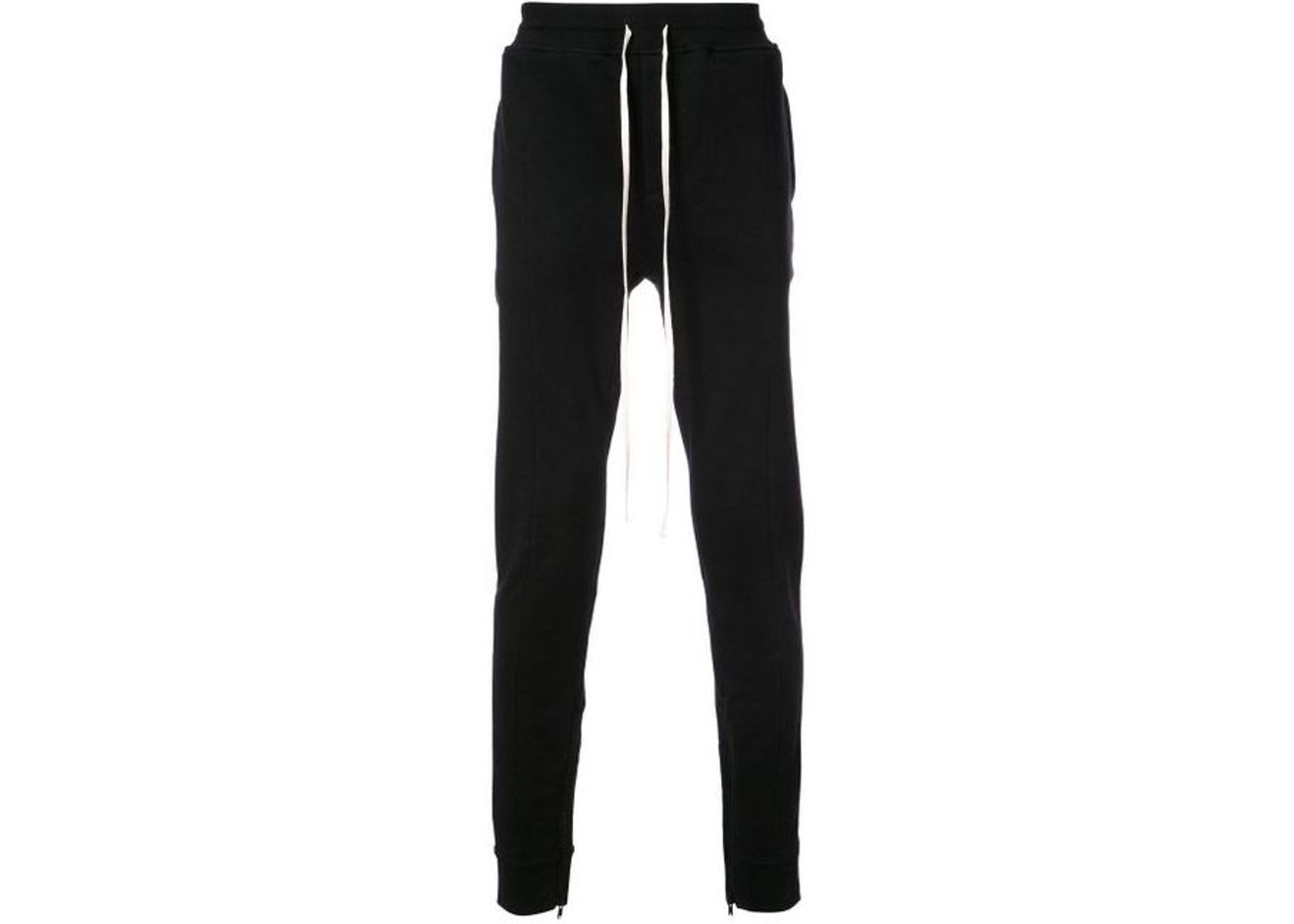 c3b7df72b FEAR OF GOD Drawstring Track Pants Black - Fifth Collection