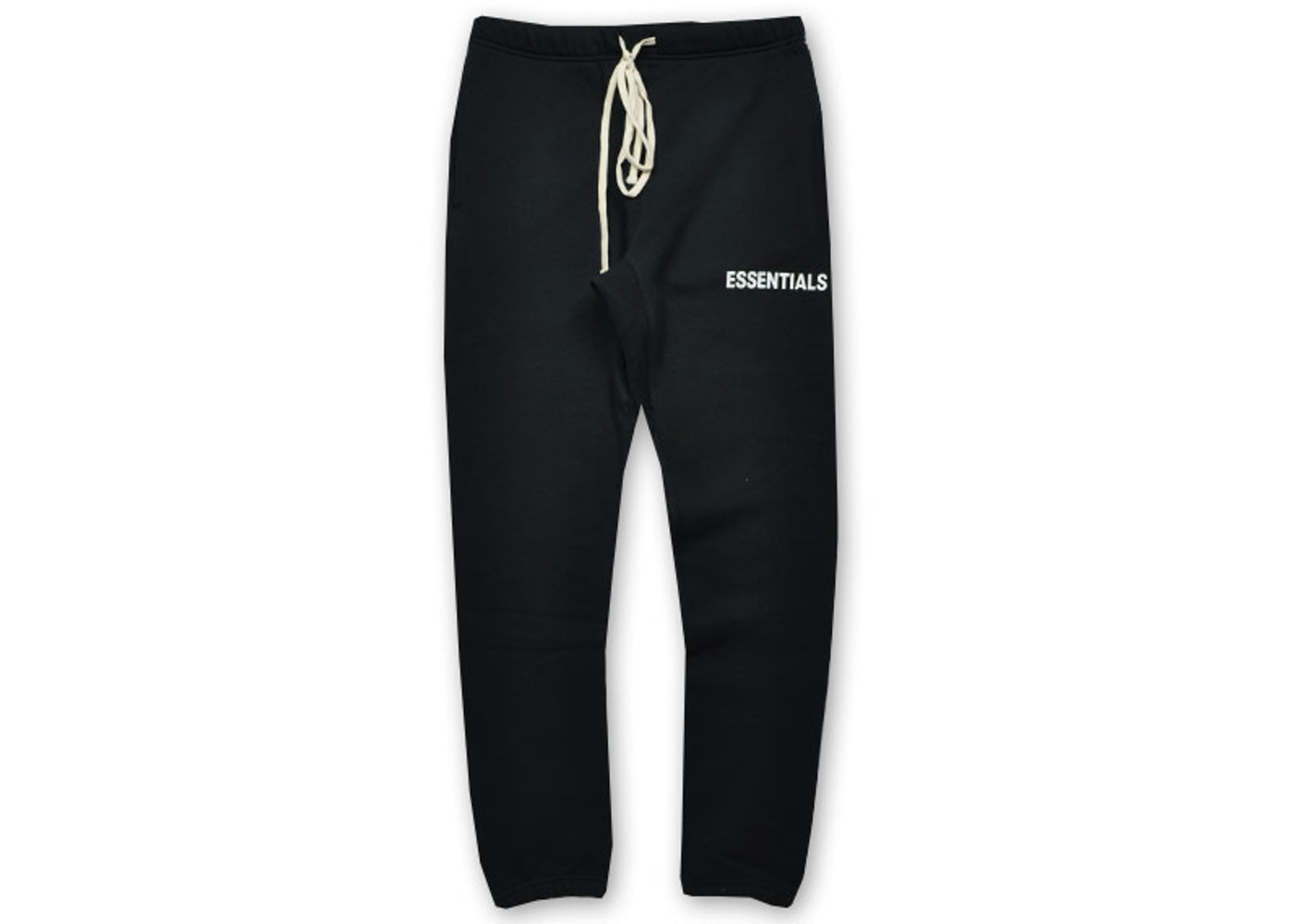color brilliancy fashionable and attractive package convenience goods FEAR OF GOD Essentials Graphic Sweatpants Black